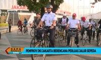 Rencana Pemprov DKI Jakarta Perluas Jalur Sepeda