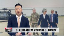 S. Korean FM reaffirms alliance with Washington on visit to U.S. bases