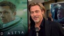 'Ad Astra' Screening: Brad Pitt