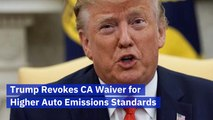 President Trump And Auto Emissions