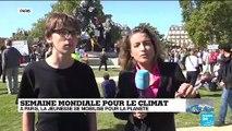 A Paris, la jeunesse est mobilisée pour la planète