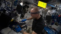 Alimentation et perception du temps dans l'espace : les expériences de Luca Parmitano
