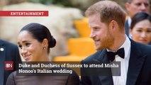 Meghan Markle Goes To A Fashion Designer's Wedding