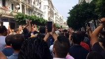 مئات المتظاهرين في شوارع الجزائر على الرغم من الانتشار الأمني الكثيف