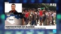 """Contestation en Algérie : """"Les autorités veulent arriver aux élections malgré les circonstances"""""""