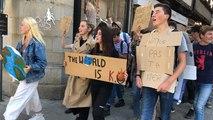 Des lycéens de Le Dantec manifestent pour le climat