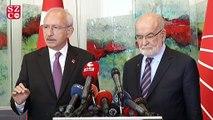 Kılıçdaroğlu ile Karamollaoğlu bir araya geldi