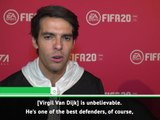 Kaka backs Van Dijk for FIFA Best award
