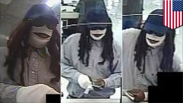 Man dressed as mummy wanted for Friday the 13th bank robbery