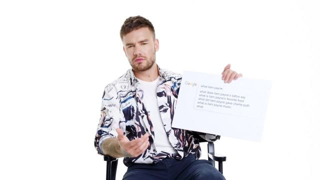 Liam Payne Answers the Web's Most Searched Questions