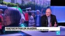 """Contestation en Algérie : """"la liberté de mouvement est compromise par Gaïd Salah"""""""