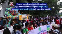 Young People Hit the Streets for Global Climate Protest