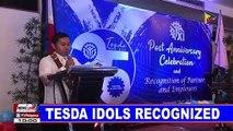 TESDA idols recognized