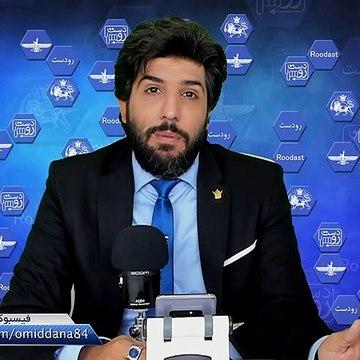 دختر آبی قربانی بازی انتخاباتی در سخنرانی حسن روحانی_رودست