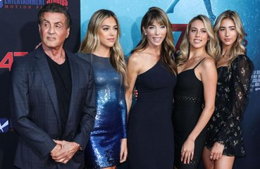 Sylvester Stallone intimidates his daughters' boyfriends