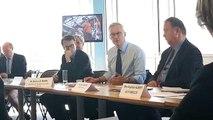 Le Ministre de l'Economie Bruno Le Maire à PSA Trémery