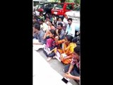 Student's protest for Anitha at madras university