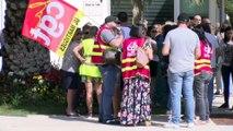 Mobilisation à Fos, la réaction des enseignants