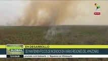 Conexión Global: Brasil mantiene focos de incendios en la amazonía