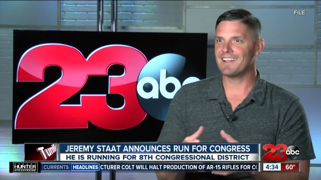 Jeremy Staat announces run for Congress