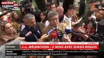 Procès LFI : Jean-Luc Mélenchon réagit à la sortie de l'audience (vidéo)