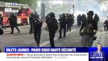 Gilets jaunes: Paris sous haute-tension