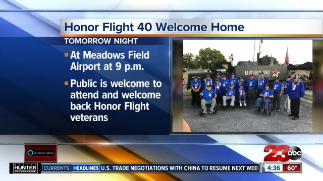 Public invited to welcome Honor Flight veterans home