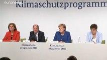 L'Allemagne boucle son plan pour le climat