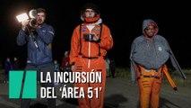 La incursión en el 'Área 51' se transforma en una celebración al amanecer