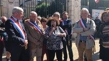 Les élus présents devant la préfecture du Mans pour l'opération Sarthe morte