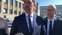 Visite de Christophe Castaner à  Lorient