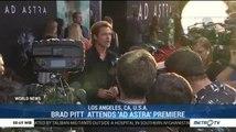 Brad Pitt Attends 'Ad Astra' Premiere