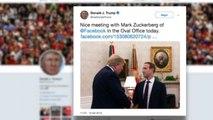 Zuckerberg nella bufera va da Trump e scatena la stampa Usa