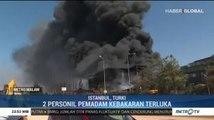Kebakaran Besar Picu Ledakan di Pabrik Kimia Turki