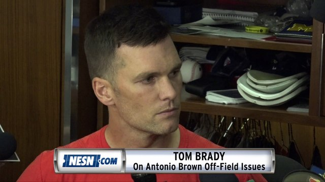 Tom Brady On Antonio Brown Off-Field Issues