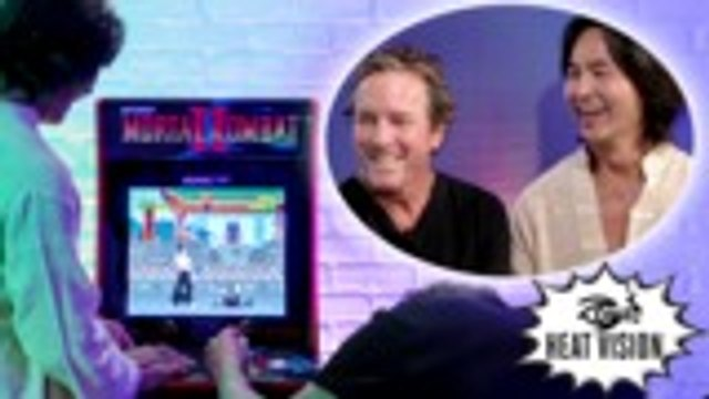 Original 'Mortal Kombat' Stars Play Mortal Kombat | Heat Vision Breakdown