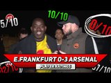 E. Frankfurt 0-3 Arsenal Player Ratings | The Academy Boys Show They're Not Scared! (feat DT)
