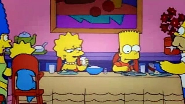 The Simpsons Season 7 Episode 5 - Lisa the Vegetarian