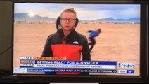 Quand Naruto apparait derrière un journaliste sur la zone 51