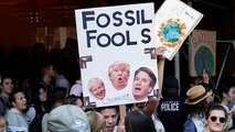 Gençlerden küresel çapta İklim Grevi: Size ders vermek için derse girmiyoruz