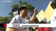 شاهد: مسيرة في كابول من أجل المناخ