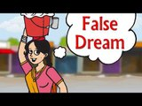 False Dream  || Kids Hindi Story || Panchtantra stories in hindi