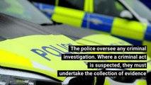 Police tackling emergencies