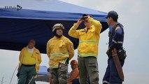 Así fueron los trabajos para controlar el incendio forestal de una semana en Dapa