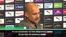 'Not my business, ask Txiki!' - Guardiola wants Fernandinho to stay at City