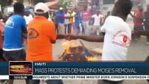 Mass Protests Demanding President's Removal