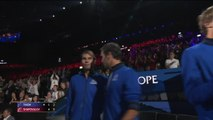 Europe lead Team World 3-1 after opening day of Laver Cup