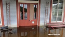 Historic rainfall stops as flooding plagues Texas