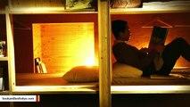 Japanese Hostel Lets You Sleep Inside A Bookshelf
