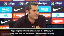Valverde hopes Messi can play against Granada